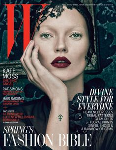 Kate Moss Covers W Magazine March 2012