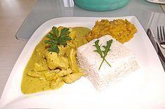 Currygeschnetzeltes mit Ananas und Kokosmilch (Rezept mit Bild)   Chefkoch.de