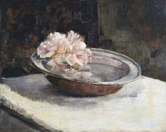 Still Life with Rhododendron  Abbott Handerson Thayer -