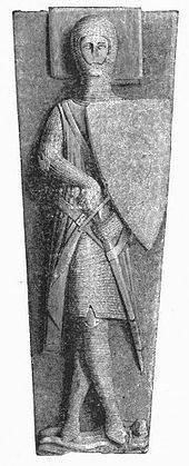 English church monuments - Wikipedia, the free encyclopedia - William II Longespee (d. 1250) in Salisbury Cathedral