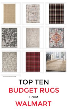 source Looking for budget rugs? I found some of the cutest from Walmart. Blue and white, neutral, plaid, natural fiber and many more. Check them all out on my post. Best Interior, Interior And Exterior, Exterior Design, White Rug, Blue And White, Blogger Home, Thistlewood Farms, Home Decor Inspiration, Design Inspiration
