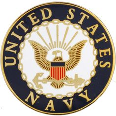 United States Navy Logo Lapel Pin Medal US Military Commemorative Collectibles, Patriotic Veteran Gifts * Visit the image link more details.