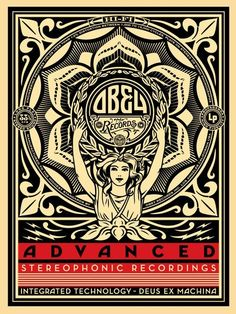 Lotus Woman: Shepard Fairey - Advanced Stereophonic Recordings