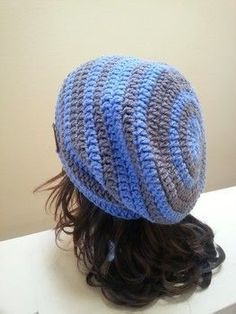 Free pattern: Oversized baggy beanie