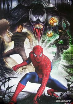 Photo of Spider-Man 3 Villains for fans of Spider-Man villains 2192085 Spiderman Sam Raimi, Comics Spiderman, Spiderman Drawing, Black Spiderman, Spiderman Spider, Amazing Spiderman, Marvel Universe, 4k Wallpaper Android, Spider Man Trilogy