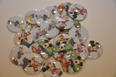 25 Mickey Mouse Club House Flat Back by BarefootWithButtons, $7.00