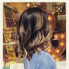 Lovely Long Bob And Color
