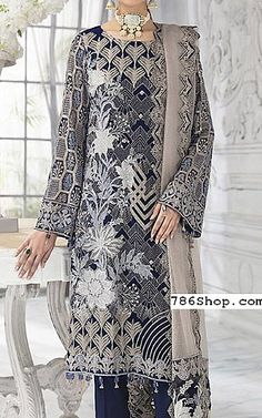 Chiffon Shirt, Chiffon Fabric, Chiffon Dress, Blue Ash, Navy Blue, Add Sleeves, Designer Party Wear Dresses, Pakistani Designers, White Chiffon