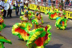 Inspiration Rio de Janeiro Carnaval Brazil theme party decor and dress ideas