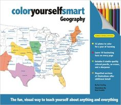 Color Yourself Smart Geography Dan Cowling Mark Franklin 9781607102168 Amazon