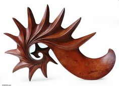 Wood sculpture, 'Vision' by NOVICA This is just beautiful.