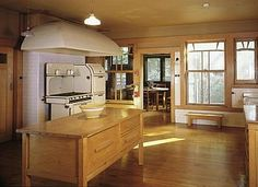 Gamble House Kitchen by Green and Green Brothers- Pasadena, Cal.