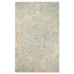 Found it at Wayfair - St. Moritz Hand-Woven Blue Area Rug