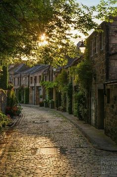 Circus Lane - Edinburgh, Scotland