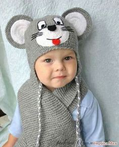 Exceptional Stitches Make a Crochet Hat Ideas. Extraordinary Stitches Make a Crochet Hat Ideas. Crochet Animal Hats, Crochet Kids Hats, Crochet Baby Clothes, Crochet Beanie, Knitted Hats, Knit Crochet, Free Crochet, Baby Knitting Patterns, Baby Patterns