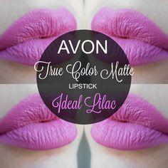 mela-e-cannella: Avon True Color Matte Lipstick - Ideal Lilac