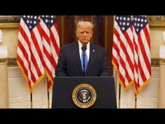 Farewell Address of President Donald J. Trump - YouTube