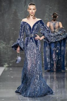 Ziad Nakad HC Source by grethita dresses glamour Beautiful Gowns, Beautiful Outfits, Couture Dresses, Fashion Dresses, Runway Fashion Looks, Style Haute Couture, Designer Gowns, Evening Dresses, Formal Dresses