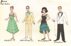 grease the film costumes - Google Search