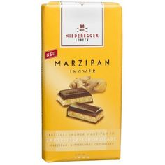 Niederegger Marzipan Classic Bar, Ginger #AmazonGrocery   Remembering Christmas in Germany