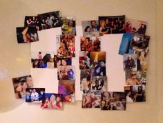 Birthday party ideas/gifts/DIY- made this for my sister for her 30th birthday, she loved it!  Fran bradshaw