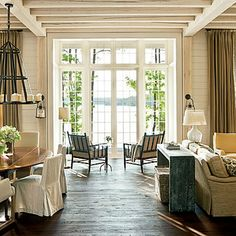 Southern Living stone lake house Alabama (2)