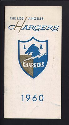 Los Angeles Chargers 1960 #AFL #Football