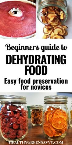 Canning Food Preservation, Preserving Food, Dehydrated Vegetables, Dehydrated Food Recipes, Canned Food Storage, Healthy Snacks, Healthy Recipes, Food 101, Dehydrator Recipes