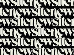 New site by Simon Walker - Dribbble Minimalist Graphic Design, Graphic Design Typography, Lettering Design, Type Design, Ad Design, Layout Design, Typography Inspiration, Graphic Design Inspiration, Brand Inspiration