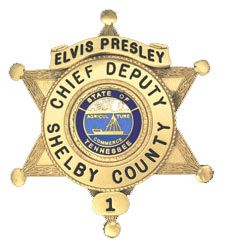 ELVIS! This company sells you a replica badge. Would be soooo cute in my office!