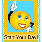 """START YOUR DAY!"" - THREE GREAT MORNING ACTIVITIES!  Start your day with Music, Movement, Rhythm, and Rhyme!  Have fun with THREE ACTIVE SONGS that are perfect for mornings!  Four Action Posters and Five Weather Cards are all included for game play and SIGHT WORD practice.  Simple song notes to fun and easy tunes are included.  Play ""Start Your Day!"", ""I'm So Glad!"", and ""What Is The Weather Today?""  Start your day the ACTIVE way!  Joyful Noises Express TpT says, ""Good Morning!""  (16 pages)…"