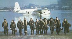 RAF SUNDERLAND AND CREW