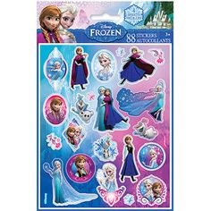 Disney Frozen Sticker Sheets, 4-Count