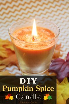 Southern Mom Loves: DIY Pumpkin Spice Candle