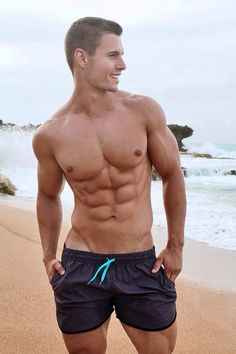 56e0e6ba96 Beautiful & Dirty Men. Hunks MenHot GuysShortsMens FashionBoysSwimwearSwim  TrunksMale ...
