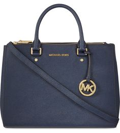 MICHAEL MICHAEL KORS - Sutton large leather tote | Selfridges.com