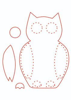 Trendy embroidery patterns birds felt ornaments 33 ideas - DIY and Crafts Felt Ornaments Patterns, Felt Crafts Patterns, Felt Crafts Diy, Bird Patterns, Ornaments Ideas, Bird Ornaments, Felt Owls, Felt Birds, Felt Embroidery