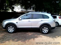 Captiva LTZ 2011 silver 80,000km done good condition car for sale in pune in Kothrud, Pune Used Cars on Pune Quikr Classifieds