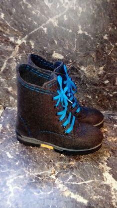 """Ботинки мужские зимние """"Синий вечер"""" – купить в интернет-магазине на Ярмарке Мастеров с доставкой"""