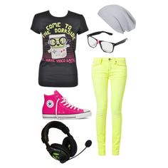 Gamer Girl outfit