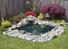 Beautiful clean water surrounded with plants and flower, this is the backyard pond. this is the thing that we all need for backyard place room. if you have free time and you don't know how to spend it, stay here. You need to see 13 DIY awesome natural backyard pond ideas for all budgets! 1.Use wood…