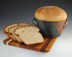 Bread Baker Bread Crock by Neal Pottery 12 RECIPES by nealpottery, $32.00 I also own one of these they are so cute.