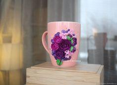 Кружка Цветы Весна 2 – купить в интернет-магазине на Ярмарке Мастеров с доставкой