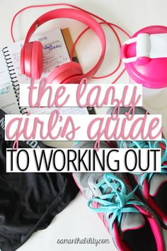 The lazy girls guide to working out! These healthy tips will motivate you to get out of your dorm and get active! Perfect for college girls!