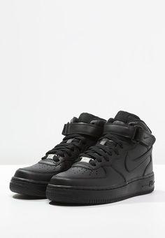 Nike Sportswear AIR FORCE 1 '07 MID - Sneaker high - black - Zalando.de