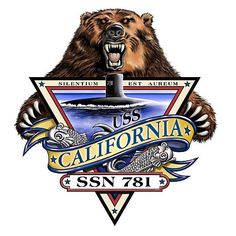 USS California (SSN 781) ship crest