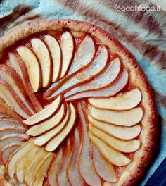 Easy puff pastry apple and pear pie
