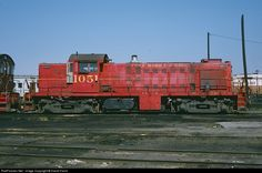 RailPictures.Net Photo: GM&O 1051 Gulf, Mobile & Ohio Alco RS-1 at Meridian, Mississippi by David Harris