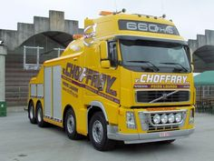"""VOLVO .FH  16 660  TOW - """"CHOFFRAY"""