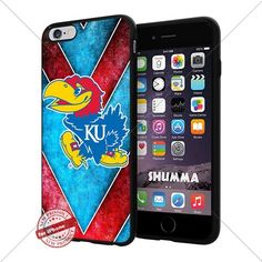 "NCAA Kansas Jayhawks Cool iPhone 6 Plus (6+ , 5.5"") Smartphone Case Cover Collector iphone TPU Rubber Case Black SHUMMA http://www.amazon.com/dp/B015ALSD66/ref=cm_sw_r_pi_dp_Nfnswb05ZSN55"